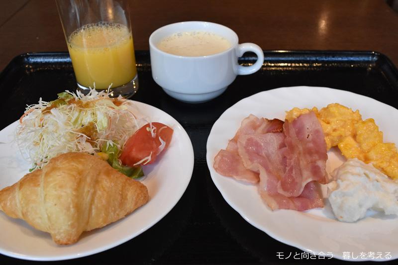 ウェルカムホテル高知の朝食