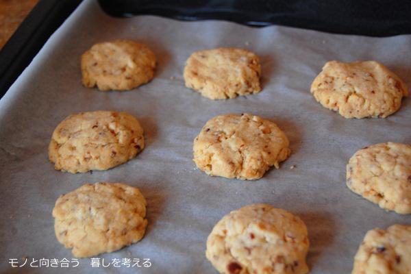 ほろほろアーモンドクッキー