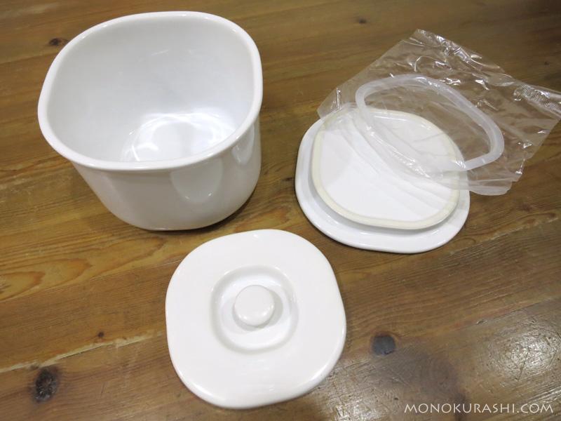 キントー セラミック浅漬鉢
