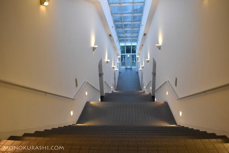 足摺テルメ、光の階段