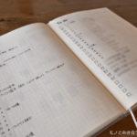 【手帳術】バレットジャーナルでスケジュール以外のことを書いてみる