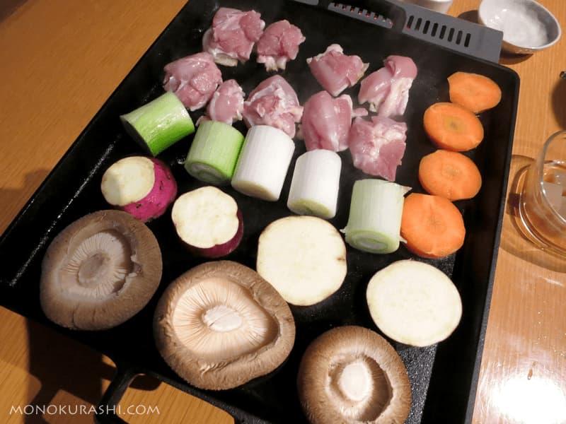 鉄板焼き・鶏焼き肉