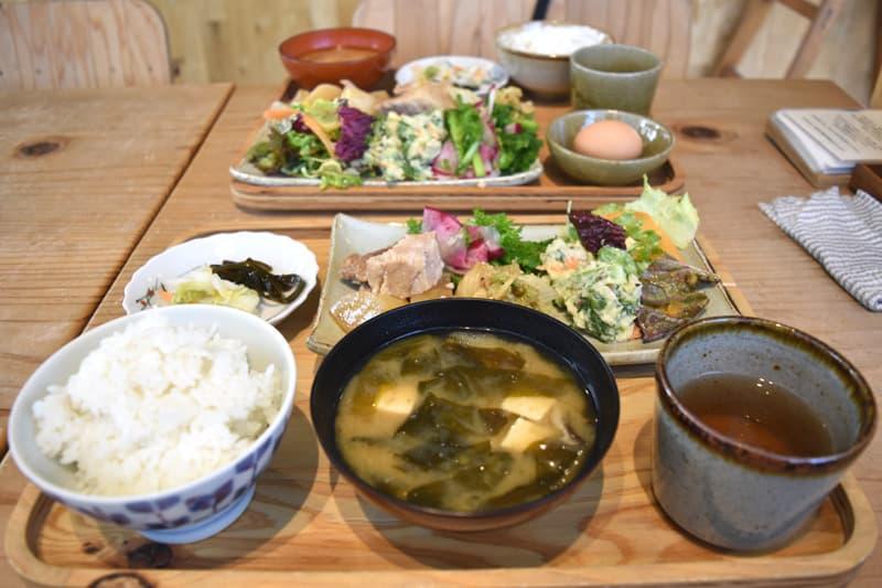 かま屋(神山町)のワンプレートランチ