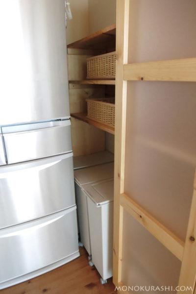 新しいゴミ箱置き場