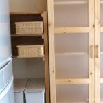 キッチン収納の見直し(4) 収納棚を作って収納力をアップさせる
