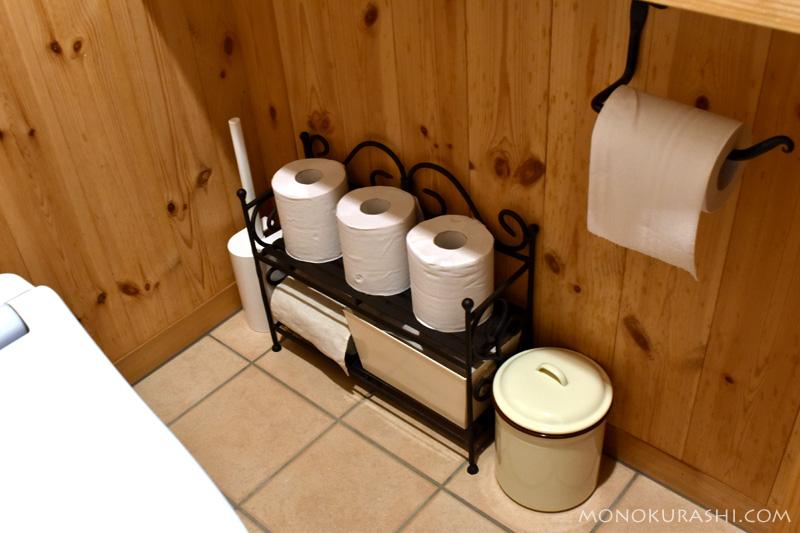トイレの小物置き場