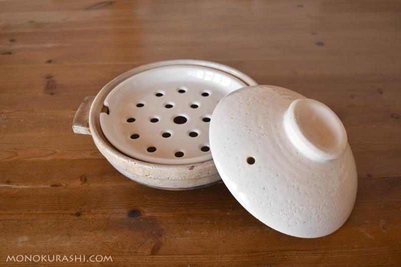 土鍋用の蒸し皿