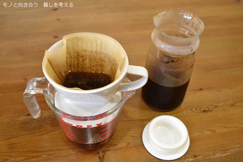 水出しコーヒーを作ってみる