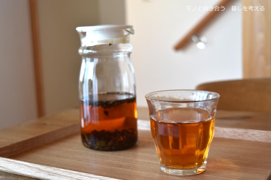 水出しで作ったイラム紅茶