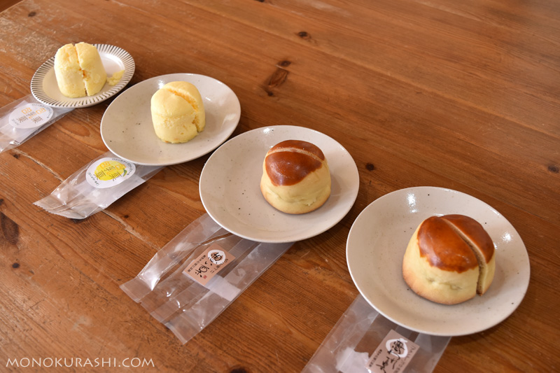 城川ファクトリーのお菓子いろいろ