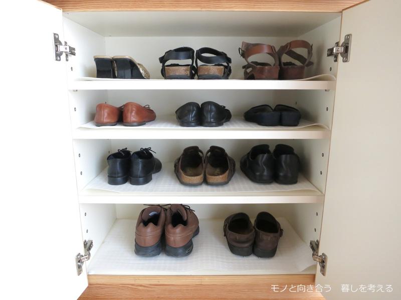 下駄箱。わたしの靴たち