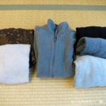 処分する冬服、活用できる冬服