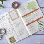 【手帳術】トラベルノートをつくって、旅行気分を盛り上げよう!